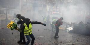 Les manifestants gilets jaunes pensent printemps
