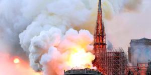 Il y a un an nous découvrions avec horreur que Notre Dame prenait feu